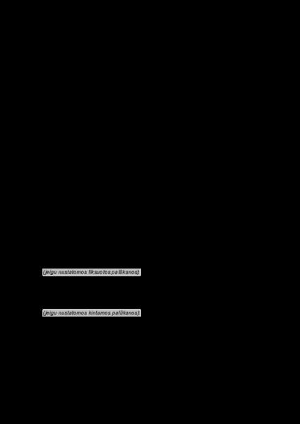 akcininko paskolos sutartis  u0161ablonas forma pavyzdys